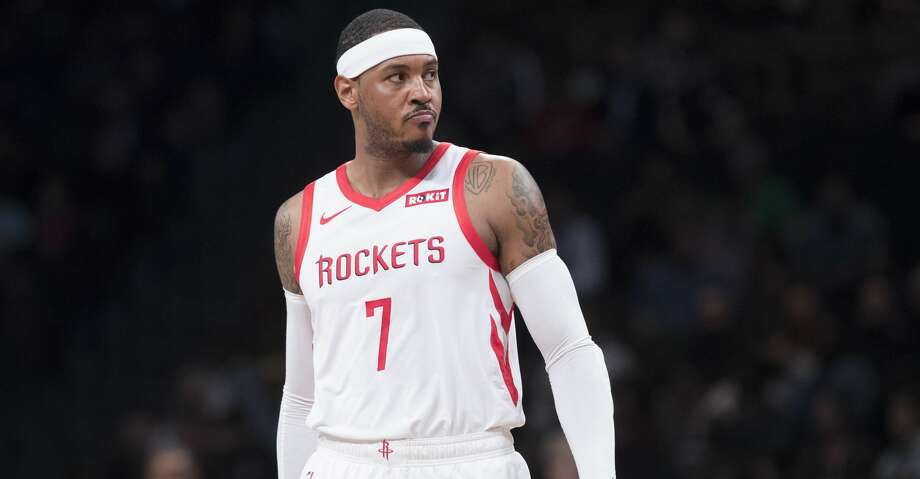 PHOTOS: Game-by-game look at Carmelo Anthony's tenure with the Rockets Carmelo Anthony played just 10 games with the Rockets in 2018 before he was told he wouldn't suit up with the team any more. On Friday morning, he explained how all that transpired. Browse through the photos above for a breakdown of all 10 of Carmelo Anthony's games with the Rockets ... Photo: Mary Altaffer/Associated Press
