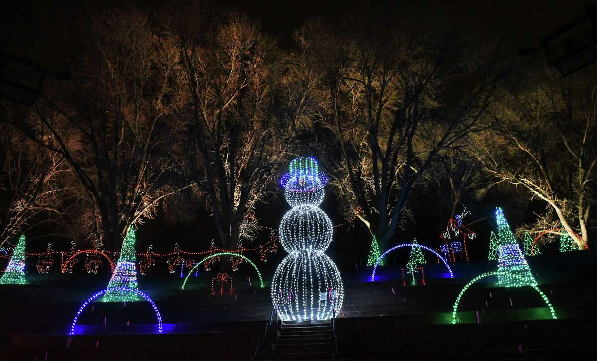 FILE. Letter writer says it's time to give Washington Park a rest from the Police Athletic League's Capital Holiday Lights in the Park. (Lori Van Buren/Times Union)