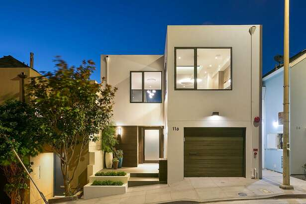 1116 Elsie St. in Bernal Heights is a newly built four-bedroom listed for $3.495 million.
