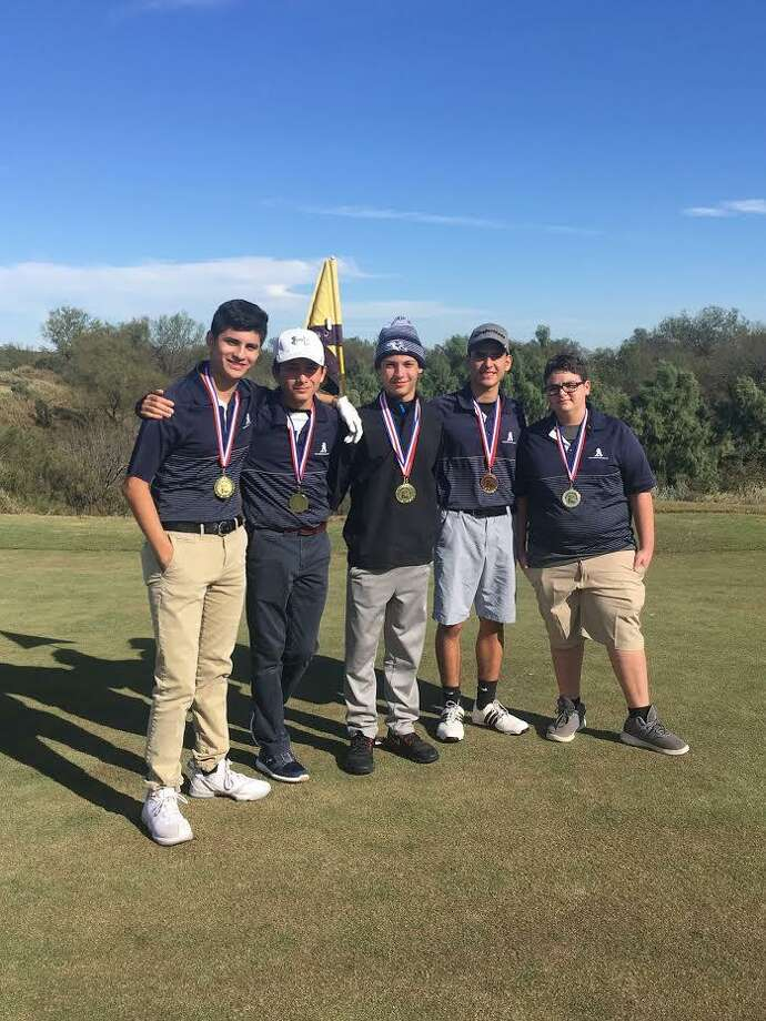 The Alexander boy's golf team won a tournament at The Max Thursday. Photo: Courtesy Of Alexander Athletics