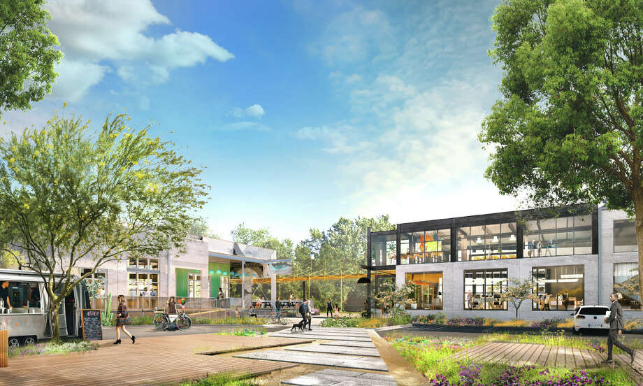 A 12-acre former industrial site in the Heights is slated to become a high-end retail and office project. Photo: Radom Capital/Triten
