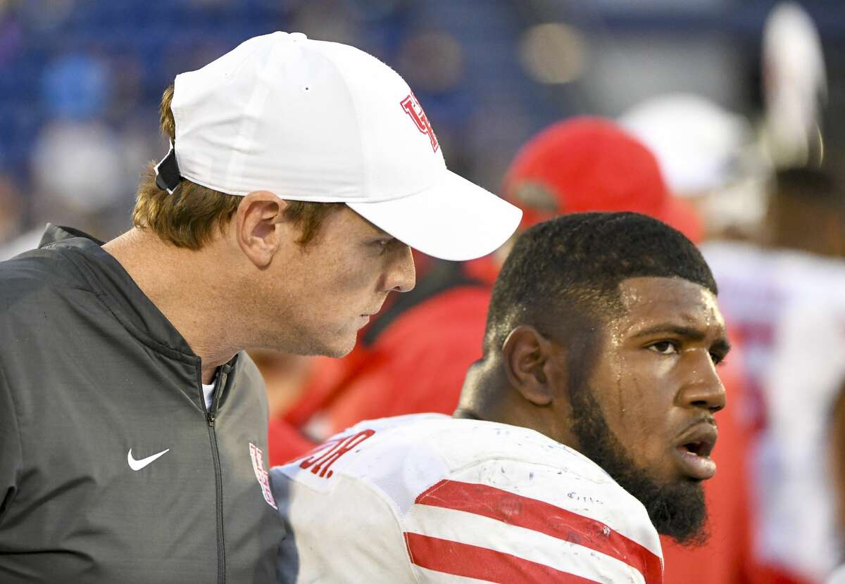 UH coach Major Applewhite said he and Ed Oliver have had several conversations about weighing Oliver's long-term NFL interests with his desire to return to the Cougars' lineup.
