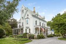A major restoration project of the antique Gothic Victorian house at 2265 Boston Post Road preserved it period features inside and out while providing it with modern amenities.