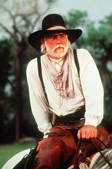 "Actor Tommy Lee Jones is shown in character as Capt. Woodrow F. Call in ""Lonesome Dove."" Photo: AP / CBS"