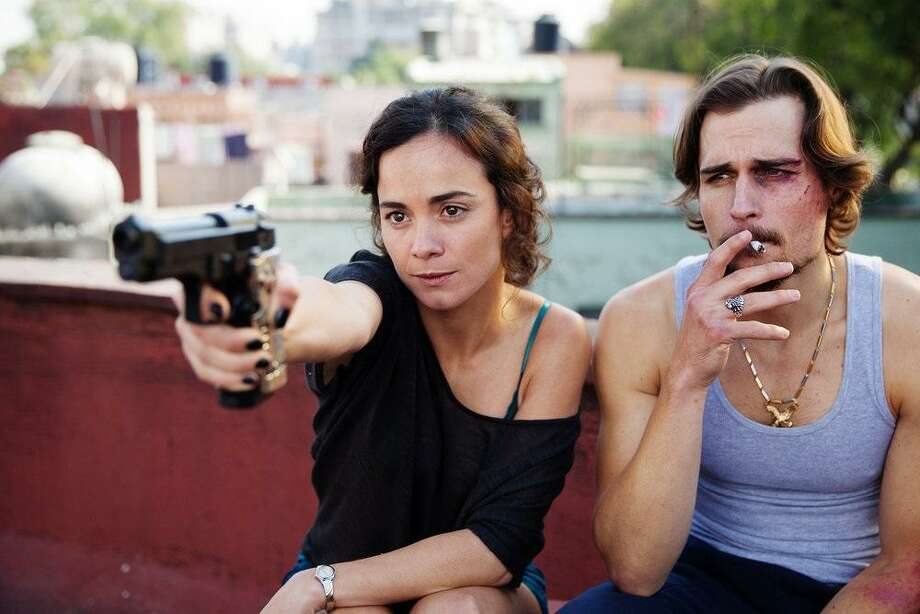 "Alice Braga as Teresa Mendoza, Jon Ecker as Guero in ""Queen of the South."" Photo: Photo By: Benedicte Desrus/USA Network) / Benedicte Desrus/USA Network / 2015 USA Network Media, LLC"