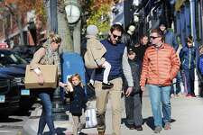 Black Friday shoppers in November 2017 on Greenwich Avenue in Greenwich, Conn. Southwestern Connecticut led the nation in 2017 average personal income, at more than $110,000, though with the 3.2 percent rate of growth trailing the New York City region and the nation as a whole.