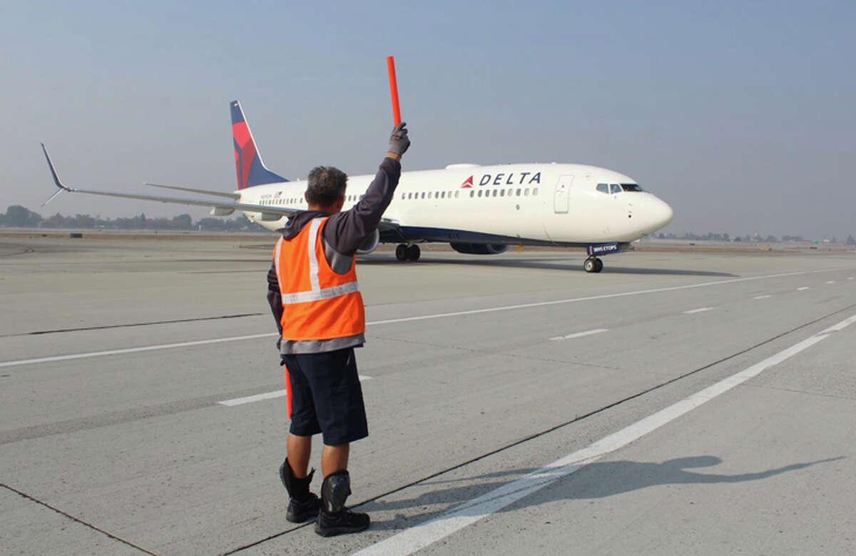Delta started San Jose-Detroit flights this week.