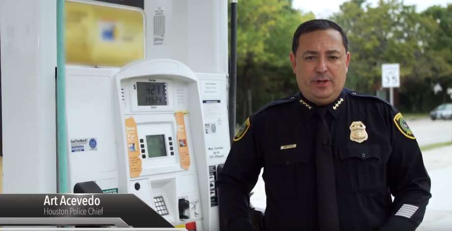 PHOTOS: Where the most credit card skimmers have been found in Houston in 2018Houston Police Chief Art Acevedo released a short video about ways to avoid getting skimmed at the gas pumps. >>> See where the most skimmers were found in Houston so far this year Photo: Youtube