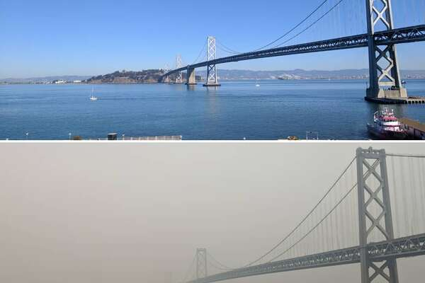 Bay Area residents share photos of the effects of the Camp Fire's smoke.