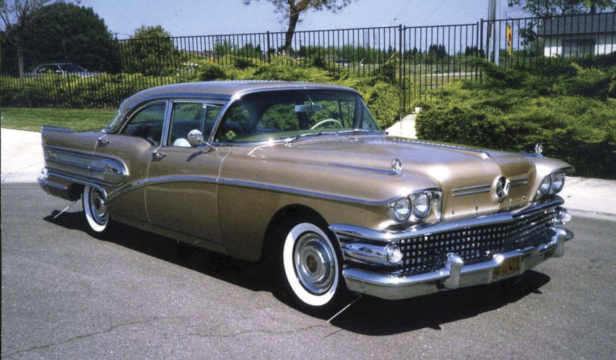 The classics: 1958 Century a big, boxy, gaudy Buick