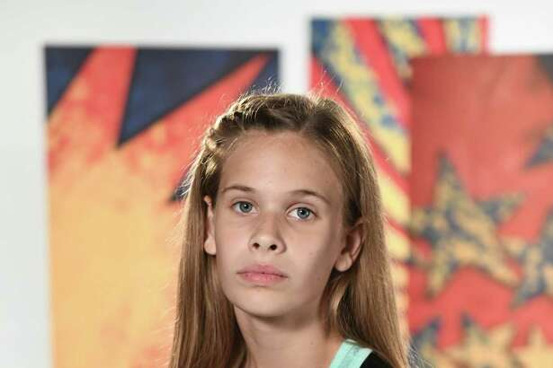 Molly Haywood, 13, of Tomball, competed in American Ninja Warrior Junior. She was chosen to compete from more than 9,000 children who applied for one of 200 spots on the obstacle course show.