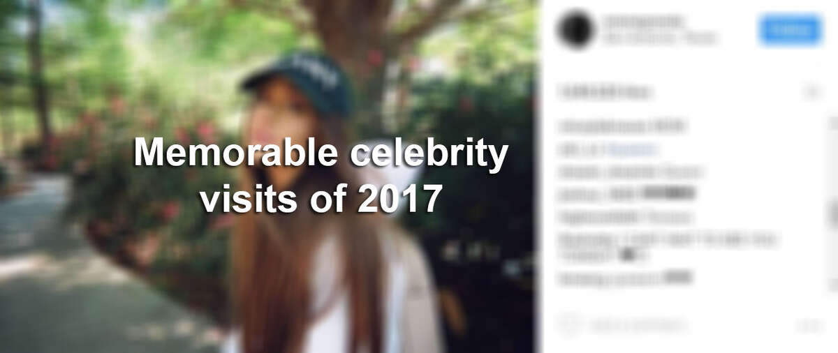 Keep clicking to see some of the memorable celebrity moments of 2017.