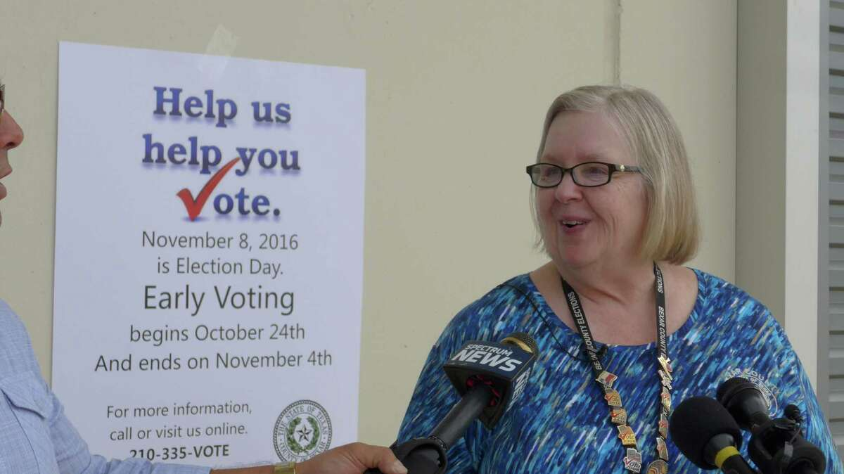 """Bexar County Elections Administrator Jacque Callanen said new """"vote centers"""" to be introduced in the fall will make voting more convenient for some."""