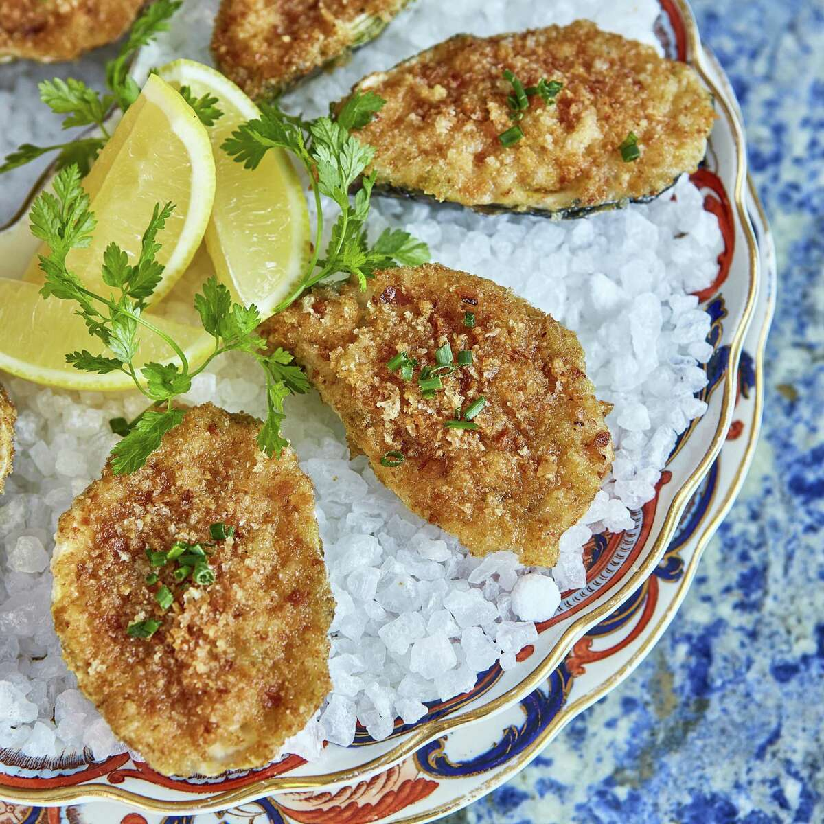 Fried oyster.