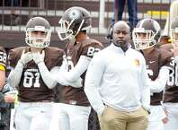 Brunswick head football coach Jarrett Shine will lead the Bruins against Choate Rosemary Hall on Saturday in Wallingford. The Bruins (8-1) visit Choate (8-0) in the Mike Silipo Bowl — which is regarded as the NEPSAC Class A championship.