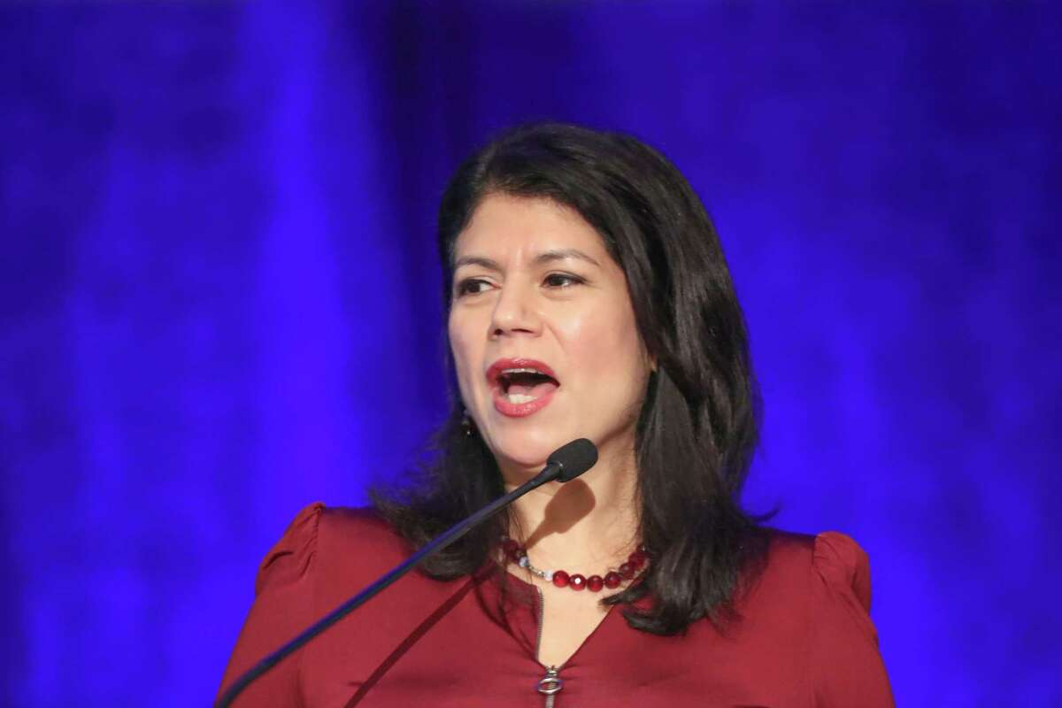 State Sen. Carol Alvarado, shown in 2018, is among 12 members of the Texas Senate Democratic Caucus who have called on Gov. Greg Abbott to expand Medicaid via executive action, as governors in several states have done.