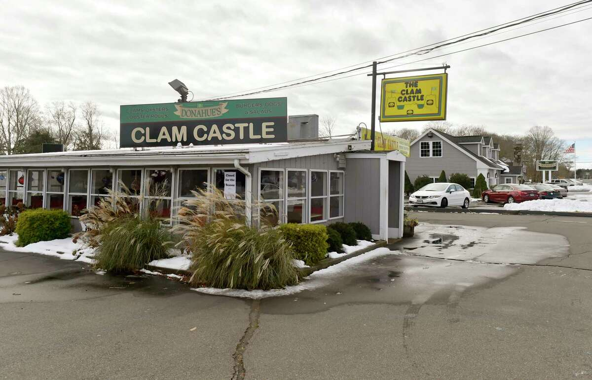 The seasonal Donahue's Clam Castle seafood shack next door to Donahue's Madison Beach Grille in Madison. Clam Castle, Madison: Best clam chowder finalist Madison's Clam Castle is another shoreline classic loved by many. The small shack is home to an award-winning cup of chowder. Not only does this shack offer chowder, but you can also learn how to make it! The Clam Castle has a tutorial open to all on it's website.  (203) 245-4911 clamcastlect.com