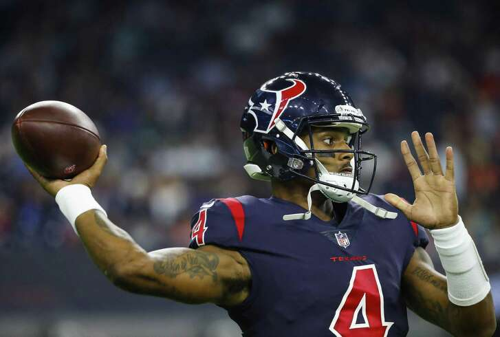 Deshaun Watson, passing against the Dolphins earlier this season, has played in 16 games his first two years in the league and has grown in each.