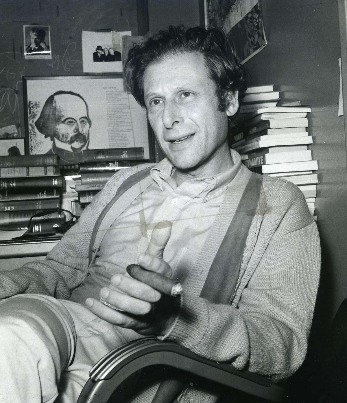 Professor Eric Solomon, July 12, 1973 Photo ran 10/15/1973, p. 4