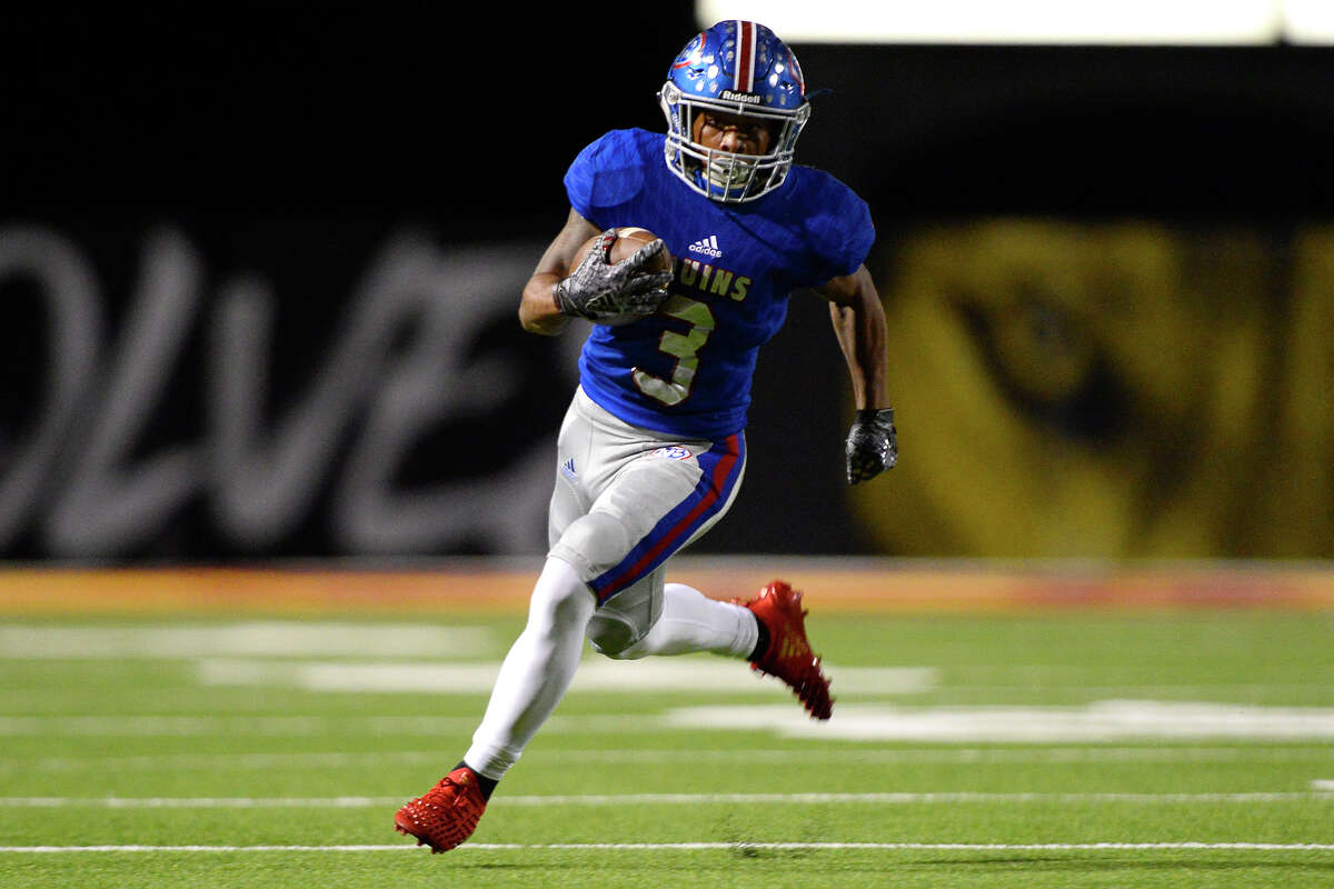 West Brook's Robert McGrue is a finalist for the Willie Ray Smith Award.