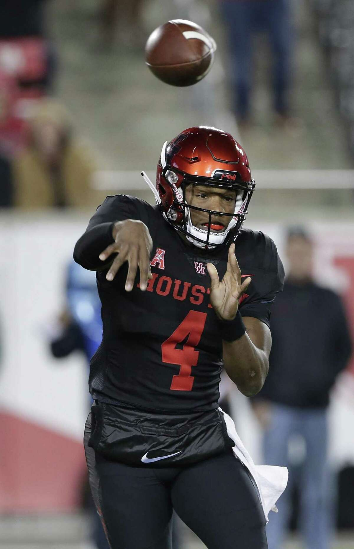 UH quarterback D'Eriq King will leave a big void to fill after accounting for 50 touchdowns this season.