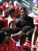 """UH defensive star Ed Oliver cites """"a misunderstanding"""" for his on-field outburst Thursday."""