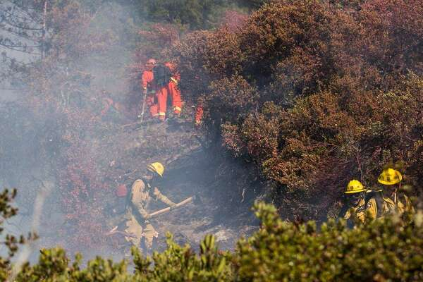 Santa Cruz Mountain Fire Map.Firefighters To Contain Mop Up Wildfire In Santa Cruz Mountains