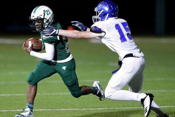 TWCA running back Dane Jackson scored five touchdowns in the Warriors' victory over Waco Reicher Catholic on Friday evening.