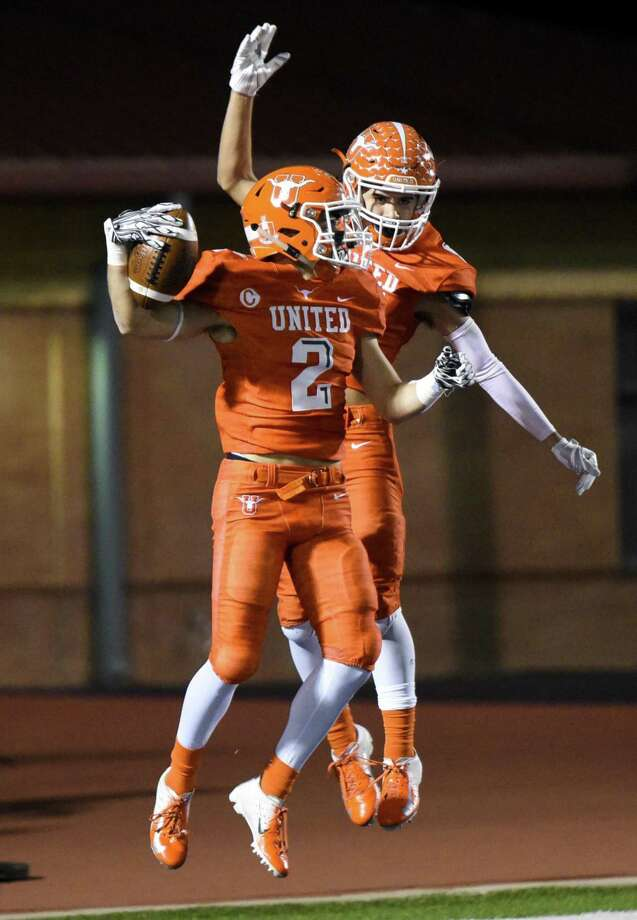 United's Jorge Murillo had 55 catches for 1,091 yards and 14 touchdowns on his way to being named all-state. Photo: Danny Zaragoza /Laredo Morning Times File