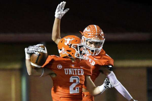 United's Jorge Murillo had 55 catches for 1,091 yards and 14 touchdowns on his way to being named all-state.