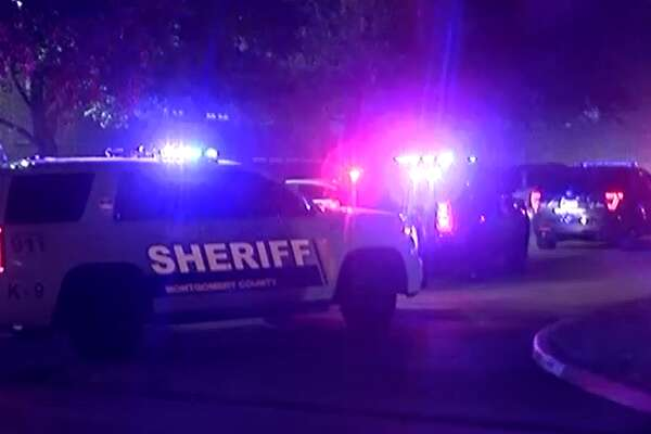 Detectives are investigating a shooting at an apartment complex in southern Montgomery County that left two people dead.