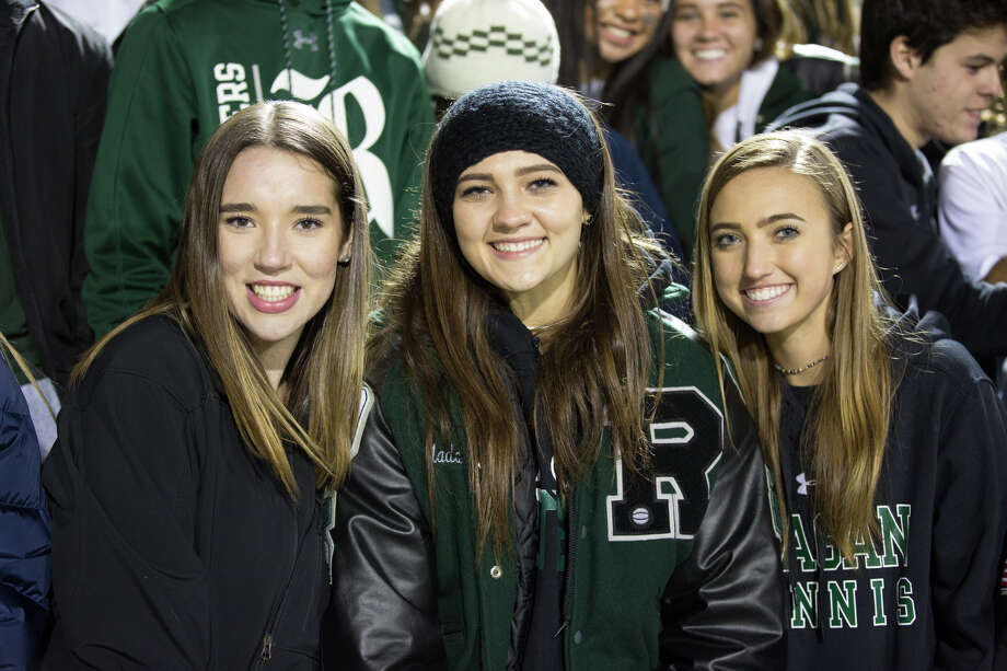 It was one of the biggest upsets of the 2018 high school football season and these Reagan and O'Connor fans were on hand at Farris Stadium Friday night Nov. 16, 2018, to witness the Rattlers triumph and advance. Photo: B. Kay Richter For MySA