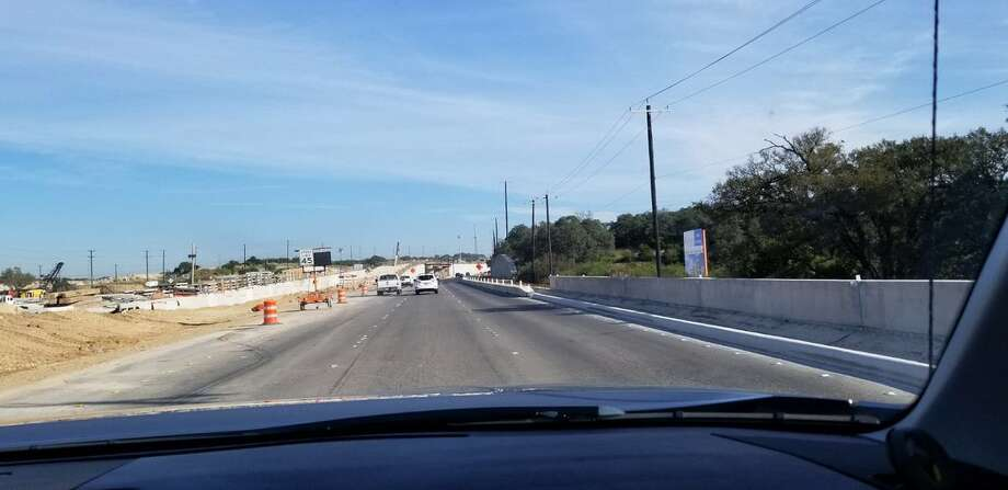 """Hot off the press! We promised to have it fixed by Monday morning but happy to report it's already done. The one-mile #traffic switch on US 281 North is now fully open with three lanes. Sorry for the backups this week — hopefully this will alleviate #congestion. "" Photo: Texas Department Of Transportation"