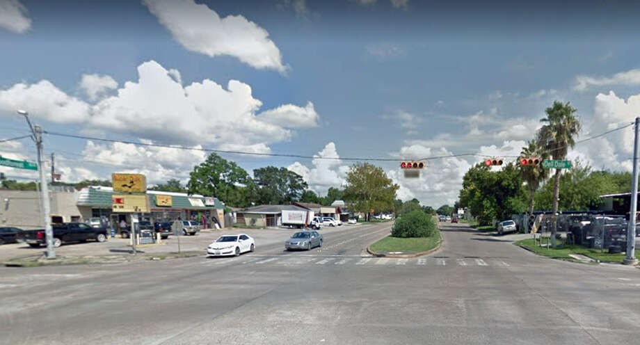 A pedestrian was struck by at least one vehicle early Saturday morning in the 15300 block of Woodforest Boulevard near Dell Dale Street in Channelview, according to the Harris County Sheriff's Office. Photo: Google Maps