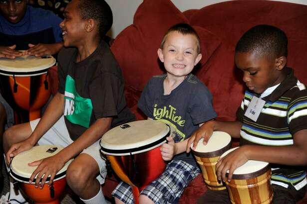 Giving Tuesday is Nov. 27 this year. The Tuesday after Thanksgiving each year kicks off the end-of-year giving season that benefits nonprofit organizations like Bo's Place, which helps grieving children, parents and families. Playing the drums is just one way children can express their feelings there.