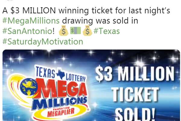 Someone in San Antonio has $3 million waiting for them to claim it, Texas Lottery announced Saturday.