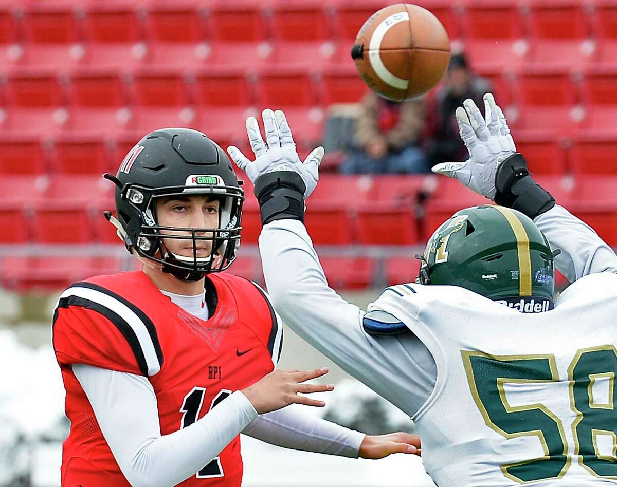 RPI quarterback George Marinopoulos said he is going to savor every moment of this season that the can because it is his last.