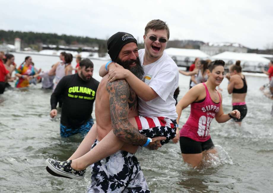 Were you Seen at the 12th Annual Lake George Polar Plunge, a benefit for Special Olympics NY held at Shepard's Park Beach, Lake George on Saturday, Nov. 17, 2018? Photo: Gary McPherson - McPherson Photography