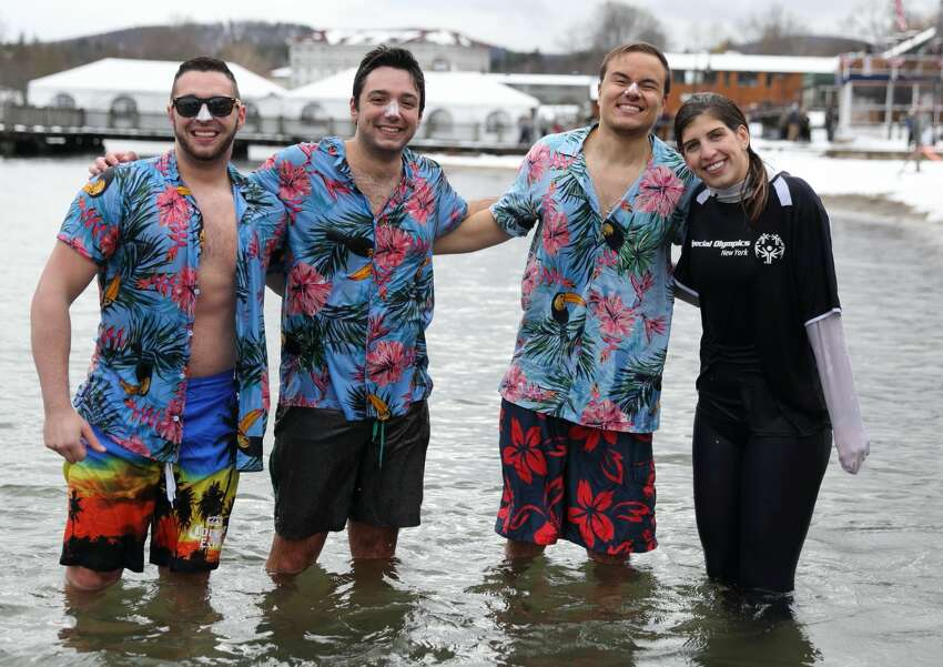 Were you Seen at the 12th Annual Lake George Polar Plunge, a benefit for Special Olympics NY held at Shepard's Park Beach, Lake George on Saturday, Nov. 17, 2018?