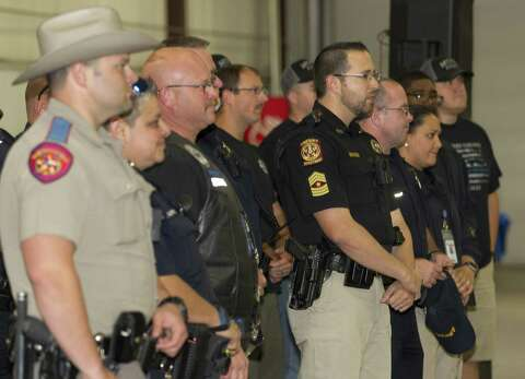 2018 Montgomery County Police rally shows law enforcement