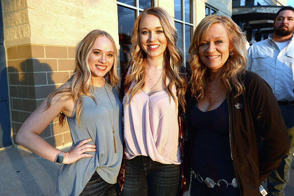 Brooke Turner, Jessica McCormick and Andrea Turner were at the Cody Johnson concert at Ford Park. Photo taken Saturday, November 17, 2018 Kim Brent/The Enterprise