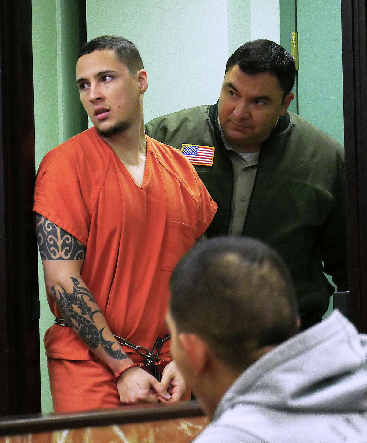 In his third attempt, the former supervisory Border Patrol agent accused of allegedly stabbing his lover and 1-year-old son to death in 2018 filed a third motion to request that the lead attorney appointed to his case be removed.