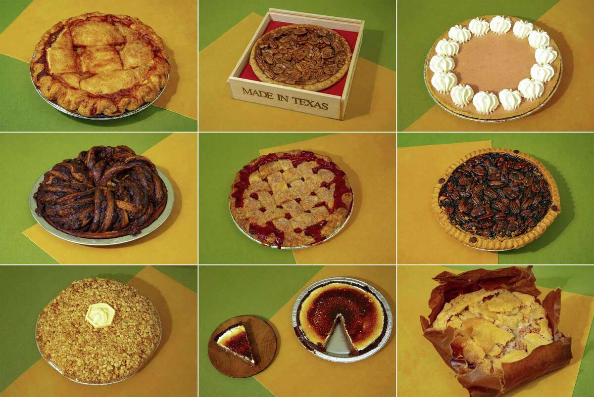 Mail-order pies tasted by Bloomberg staff.