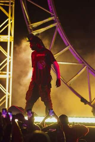 5169546ef947 <p>Rap superstar Travis Scott hosted the inaugural Astroworld Festival at NRG  Park on
