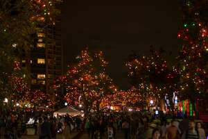 Along with live music and food trucks, San Antonio enjoyed the view at Light the Way on Saturday at the University of Incarnate Word.