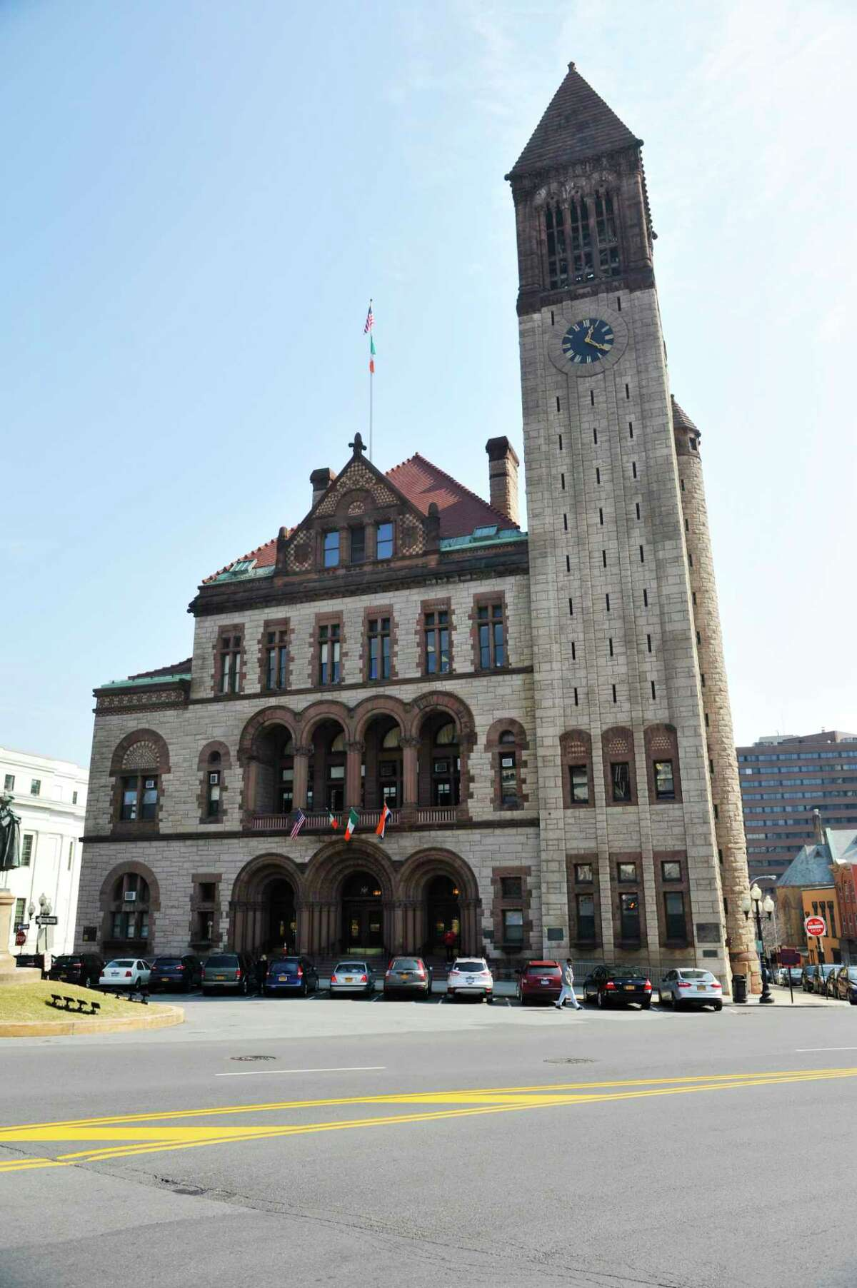 Albany is looking for more input on how it should use part of the $80.7 million in federal funds it received under the American Rescue Plan.(Paul Buckowski / Times Union)