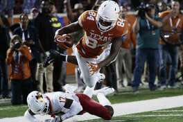 Lil'Jordan Humphrey and the Longhorns defeated the Cyclones 24-10 Saturday. With the win, Texas now only has to defeat Kansas to clinch a Big 12 Championship berth.