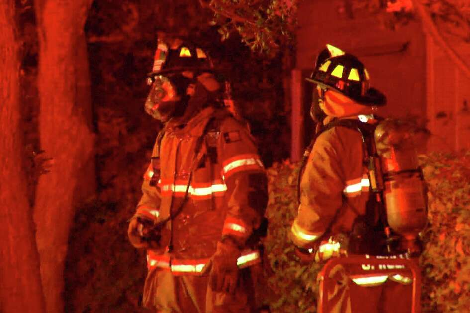 Firefighters responded to the blaze at about 10:25 p.m., Nov. 18, 2018, at a home in the 200 block of Inslee Avenue. Heavy smoke was showing from the back of the house when they arrived.