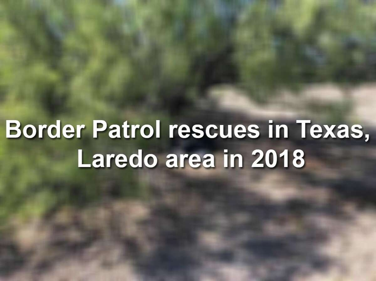 (Warning: Graphic Photos) Keep scrolling to see the rescues performed by Laredo-area Border Patrol agents.