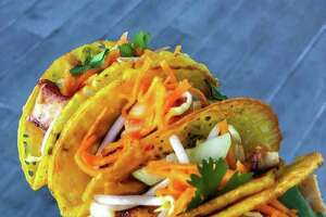 Saigon House in Midtown was judged Best in Show at the third annual Gr8 Taco Challenge at 8th Wonder Brewery. The restaurant mad a banh xeo taco.